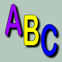 Learn the letters of the alphabet in English
