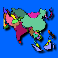 Learn the countries of Asia