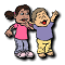 Translation of children activity dressup from French to English