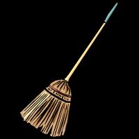 sapu a broom