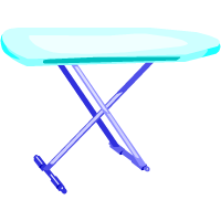 an ironing board