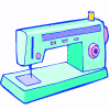 a sewing machine