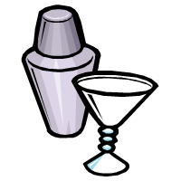 a cocktail shaker