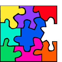 a jigsaw puzzle
