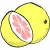 a grapefruit