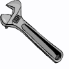 a wrench